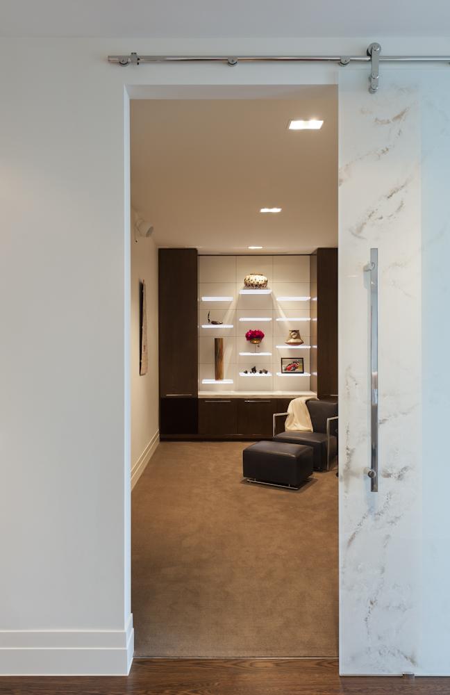 Rina Cohen Interiors, RCI Designs, Interior Design, Custom Glass Doors