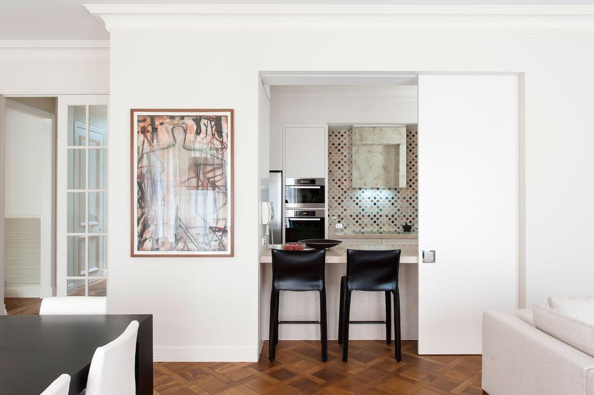 Rina Cohen Interiors, RCI Designs, Interior Design, Galley Kitchen Toorak, Kitchen Bar