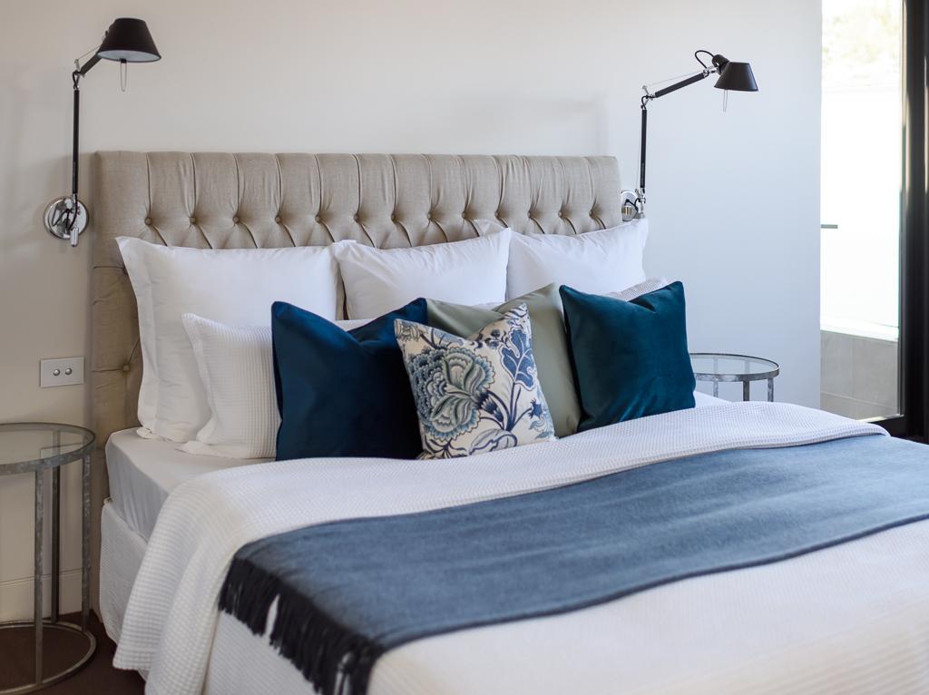 Artemide lights Master Bedroom RCI Designs - Rina Cohen Interiors
