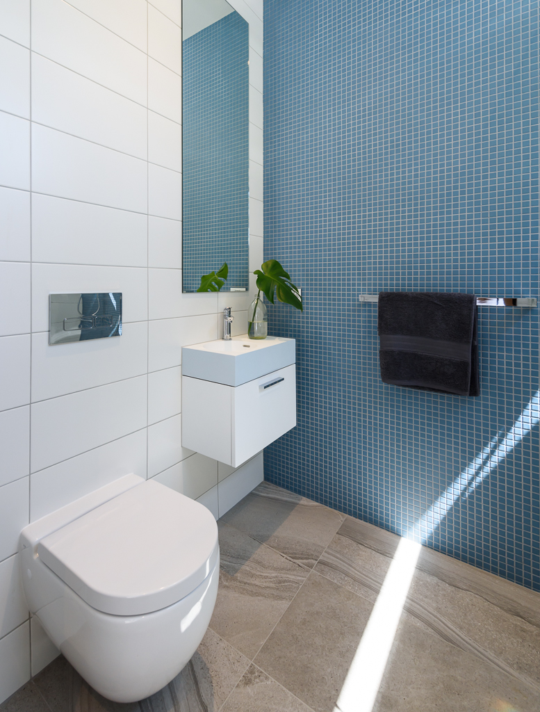 Compact Bathroom RCI Designs - Rina Cohen Interiors