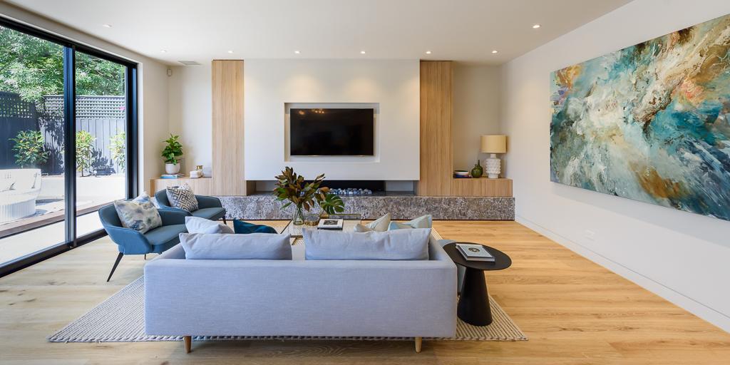 Family Room RCI Designs - Rina Cohen Interiors