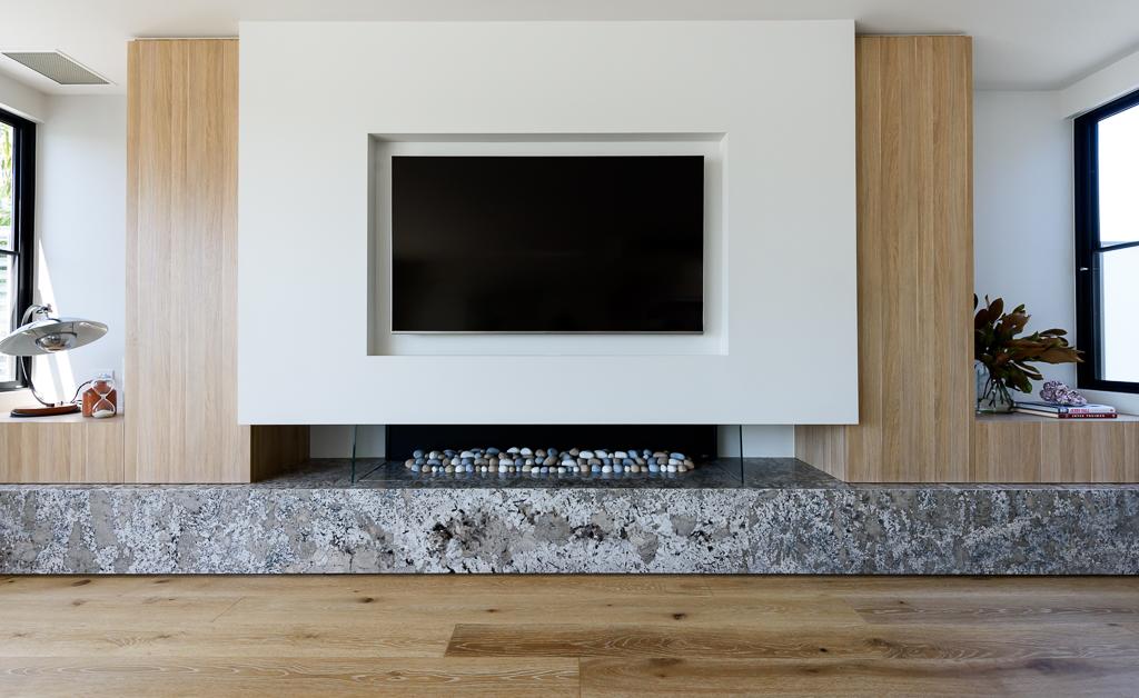 Fireplace RCI Designs - Rina Cohen Interiors