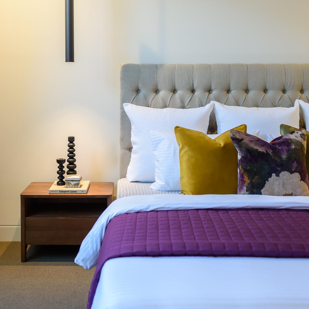 Maaster Bedroom RCI Designs - Rina Cohen Interiors