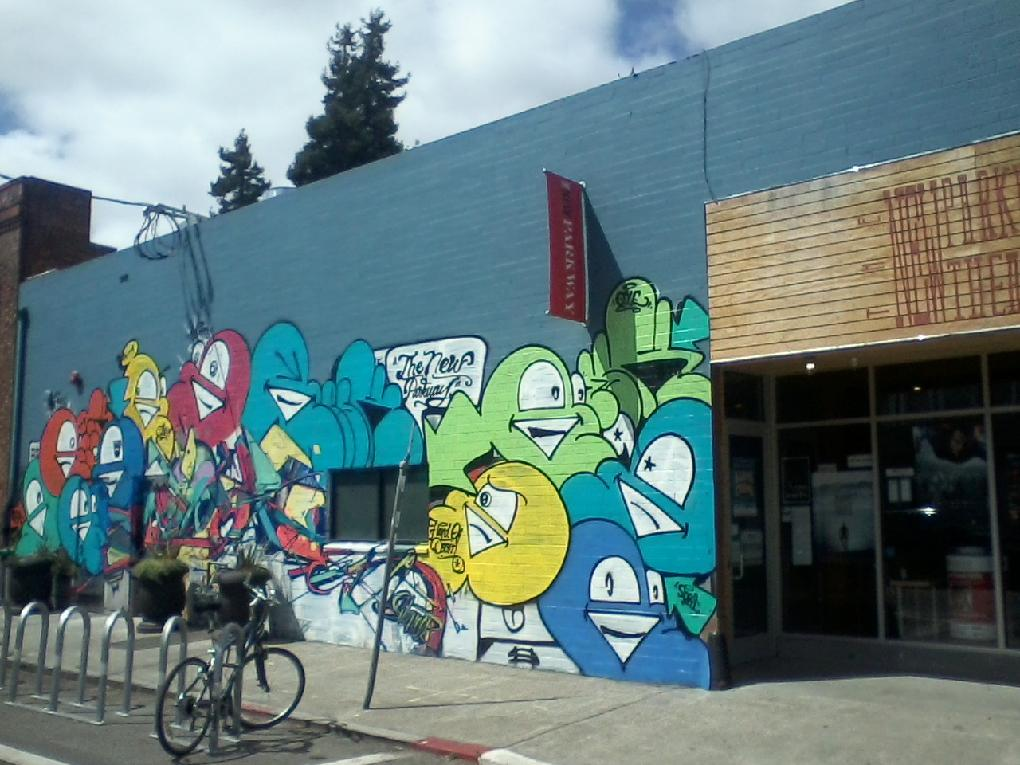 New murals in the neighborhood: New Parkway Theater