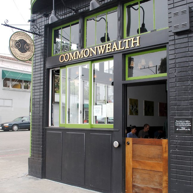 Commonwealth Cafe and Pub in Oakland                              Adress