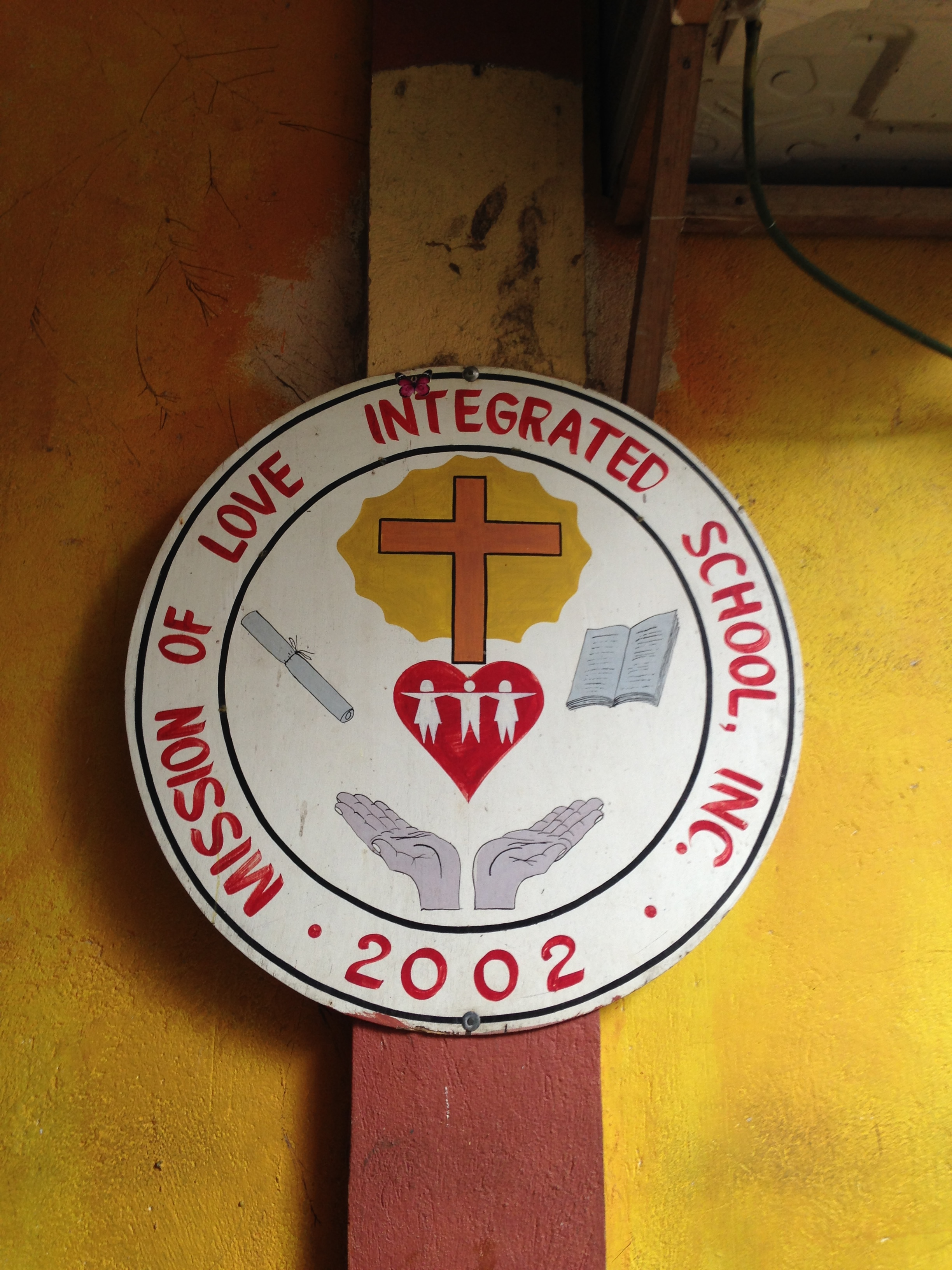 The Mission of Love Integrated school was founded to bring opportunity and meet the needs of the Ati children.