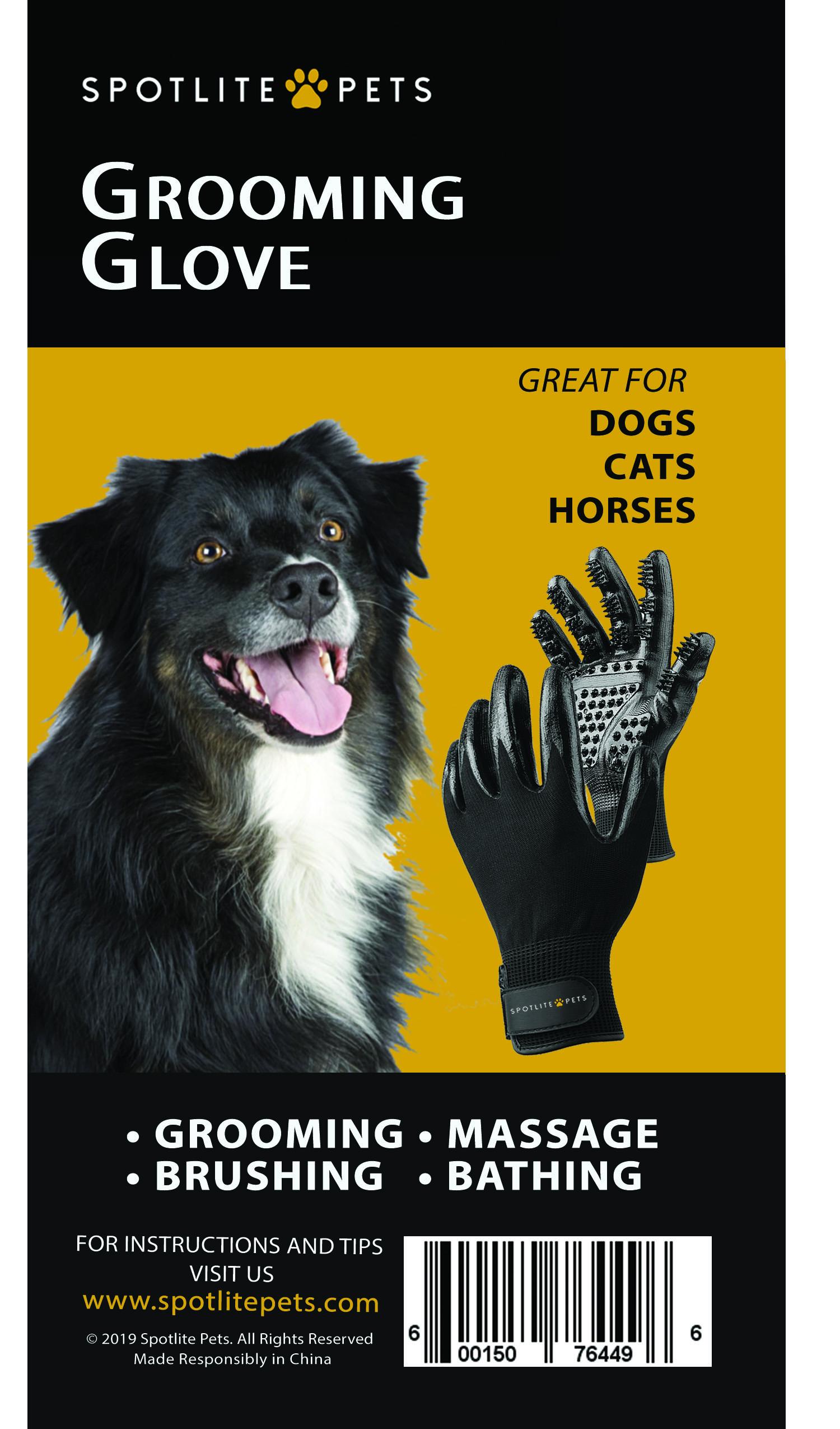 Spotlite Pets Grooming Glove
