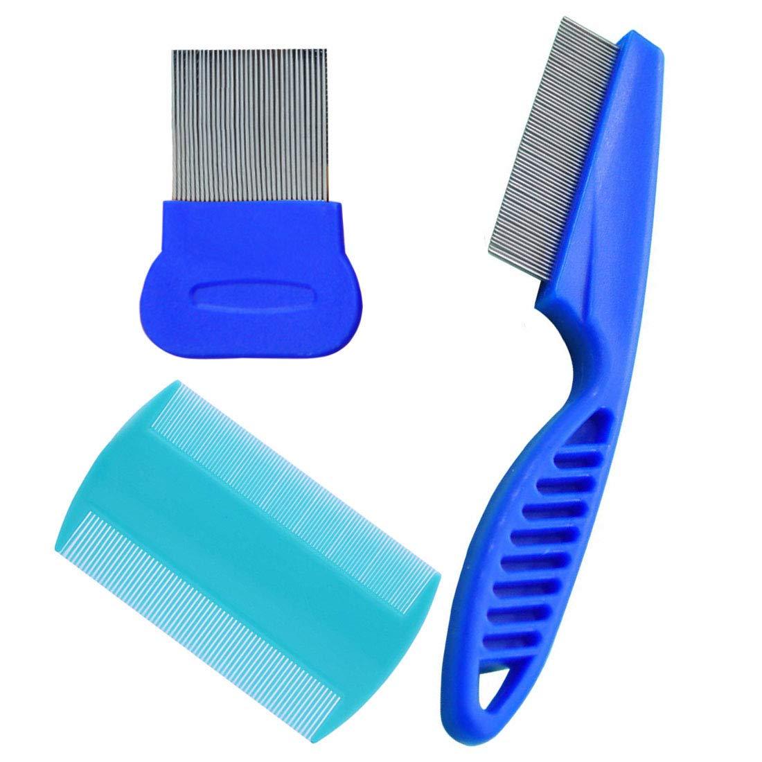 3 Piece - Dog Comb Set