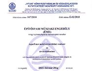 TUHH Performance Certificate