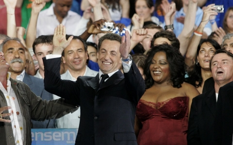 Nicolas Sarkozy Election Gala – Paris - DETAILS