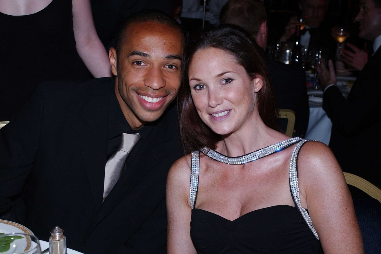 Thierry Henry & Claire Merry - London