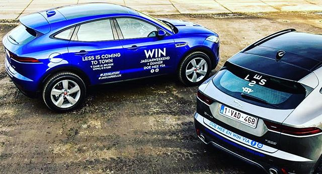 Win this Jaguar E-Pace for a weekend +all-in dinner for 2 at #LESS_eatery.  Share this post and tag a friend who you like to cruise with.  Use our hashtags:  #jaguarbelux #lesseatery  The game is on till March 10th!  #urban #brugesbelgium #bruges  #lessmoves #jaguar @gertdemangeleer @less_eatery