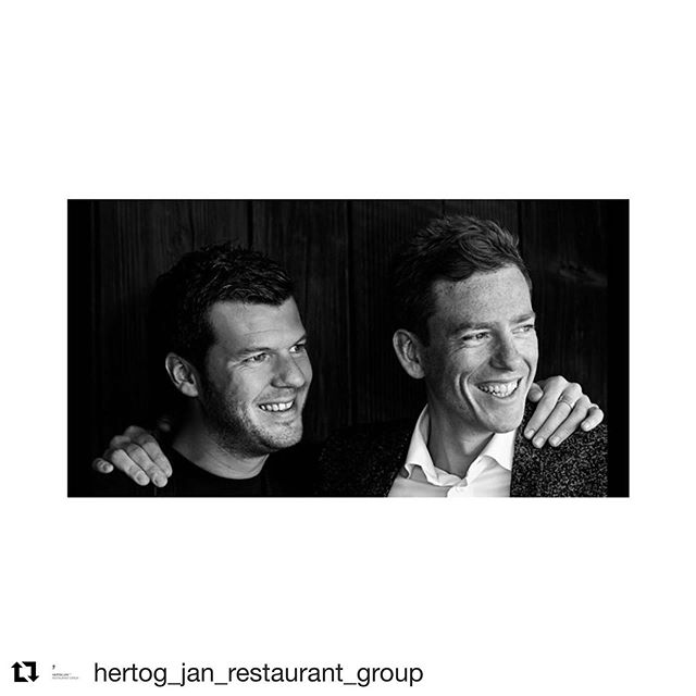 ・・・ We felt a bit sad when we heard the news that Daniel Humm and Will Guidara will no longer work together in the future. . . Together they brought their restaurant Eleven Madison Park to unprecedented heights.  They received 3 Michelin stars and in 2017 Eleven Madison Park was voted no. 1 in The World's 50 Best Restaurants. . . Just because our story is so similar, it touched us in a special way. It makes us grateful that we have been working together as best friends since 2000. We cannot imagine ever having to do it differently because we bring out the best in each other. . . We are really looking forward to the new paths that we will be traveling together in the future and wish Daniel and Will all the best with their new personal projects! Warmest regards from Belgium Gert & Joachim  #friendship #friends #makeitnice #elevenmadisonpark #usa #newyork #hertogjan #hertogjanrestaurantgroup #belgium #bruges #zedelgem #visitbruges #visitflanders  @danielhumm @wguidara @best_chef_of_world @elevenmadisonpark @gertdemangeleer @joachimboudens @worlds50bestpictures @theworlds50best @michelinguide 📷@peereriksson