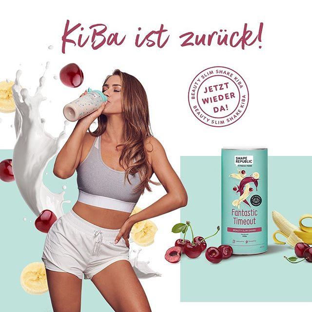 Schon gesehen? 🍌🍒 Unser KiBa Slim Shake ist zurück! Denkt dran, euch den LIMITIERTEN Slim Shake zu sichern, bevor er vergriffen ist! Mit dem Klassiker aus der Kindheit wird auch Abnehmen zum Kinderspiel! 🙆🏼♀️ Link in Bio. #shape_republic #shape_it_easy #kiba #cherry #banana #fruit #shake #milkshake #beautyshake