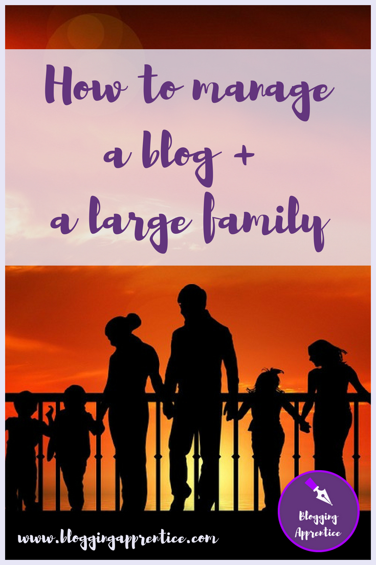 Managing a blog, a large family, and daily life at the same time? Kristy of The Imperfectly Perfect Me is telling us how she does it all. At BloggingApprentice.com!