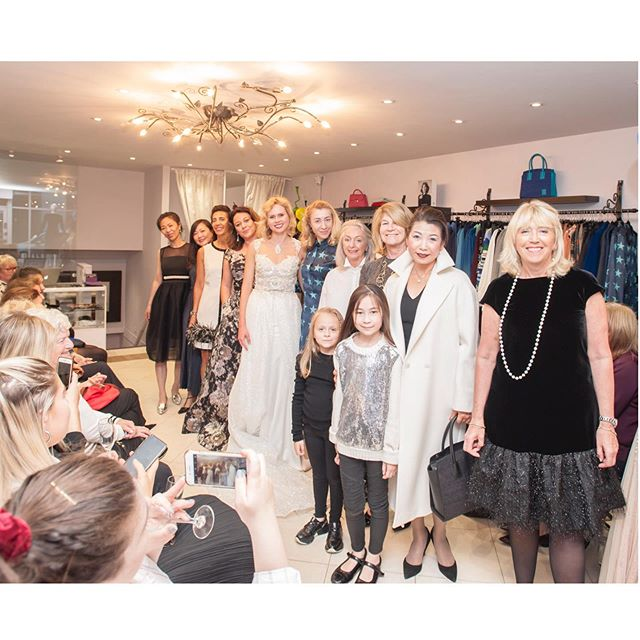 Our annual #party was a great success and the #show was great fun! Laid back and #glamorous, our models were our clients once again. Thank you to all my fabulous ladies! ❤️ Swipe left for more photos. #alberreodette#storeevent#store#fashion#boutique#boutiqueshopping#boutiquefashion#multibrand#madetomeasure#runway#catwalk#model#nofilter#photography#ootd#elegant#look#style#outfit#london#stylist#weddingguest#motherofthebride#motherofthegroom#bridesmaiddress#formal#clothes