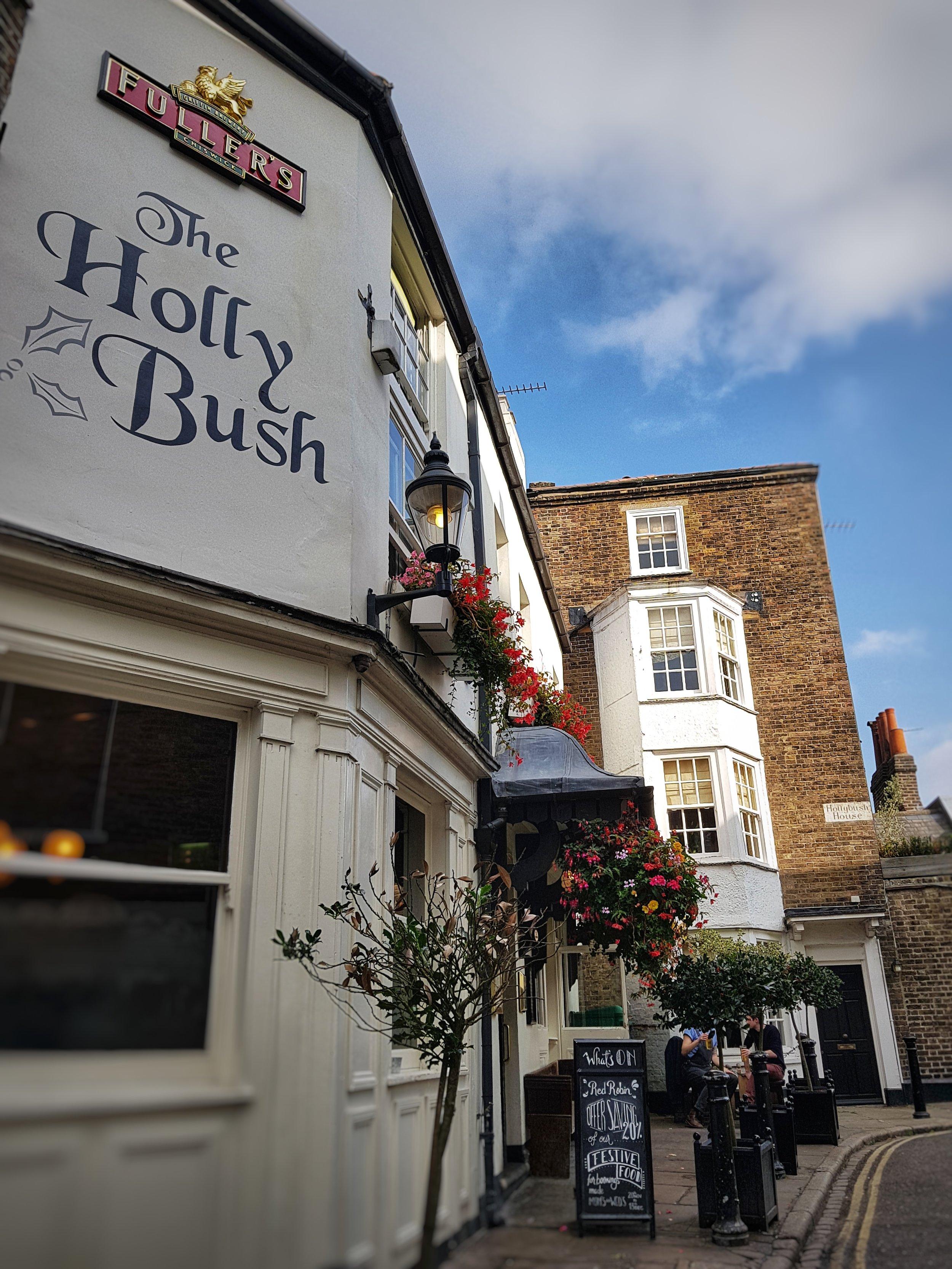 HOLLY BUSH PUB LONDON REVIEW