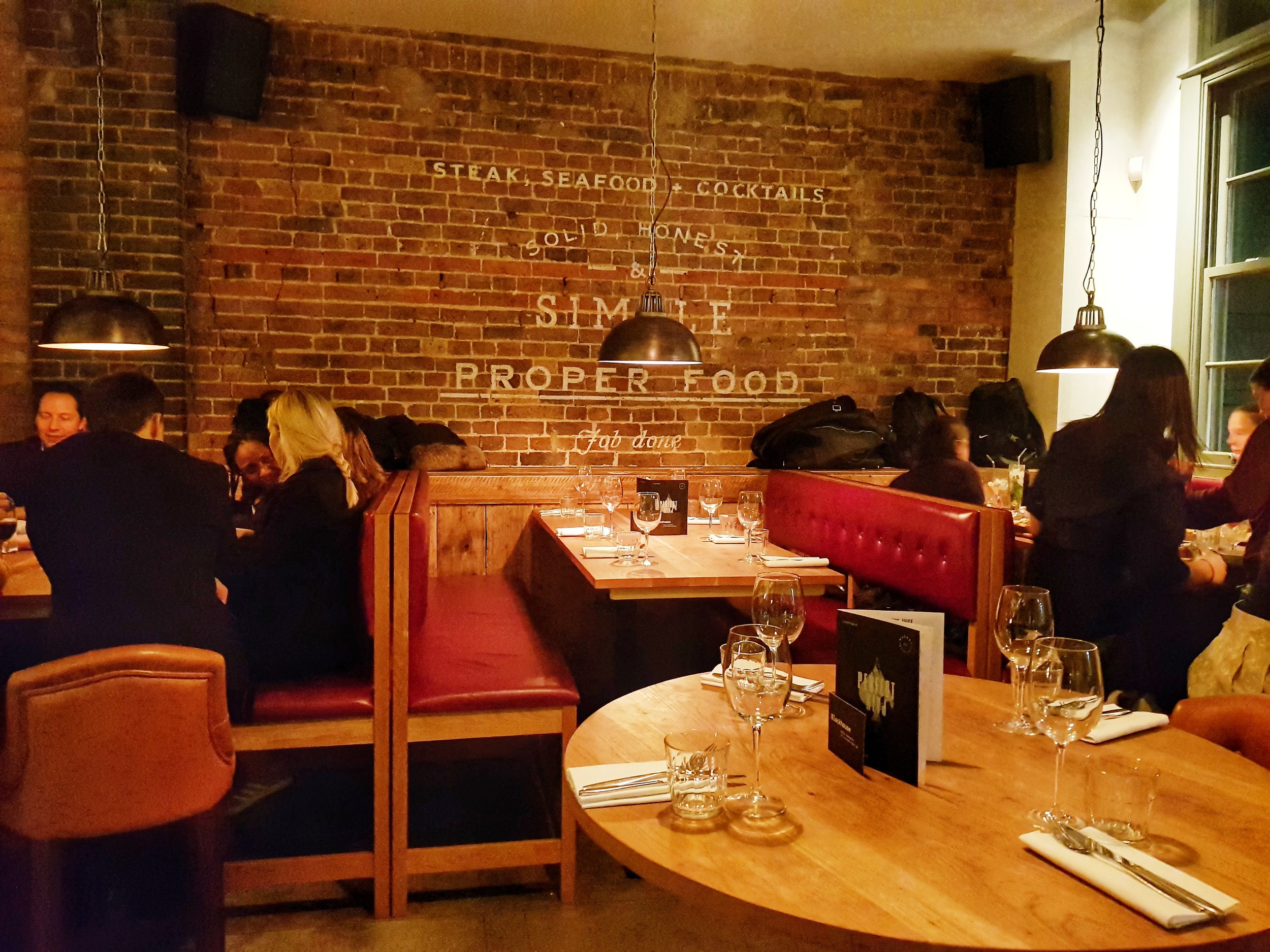 THE GRILL ON THE MARKET LONDON RESTAURANT REVIEW