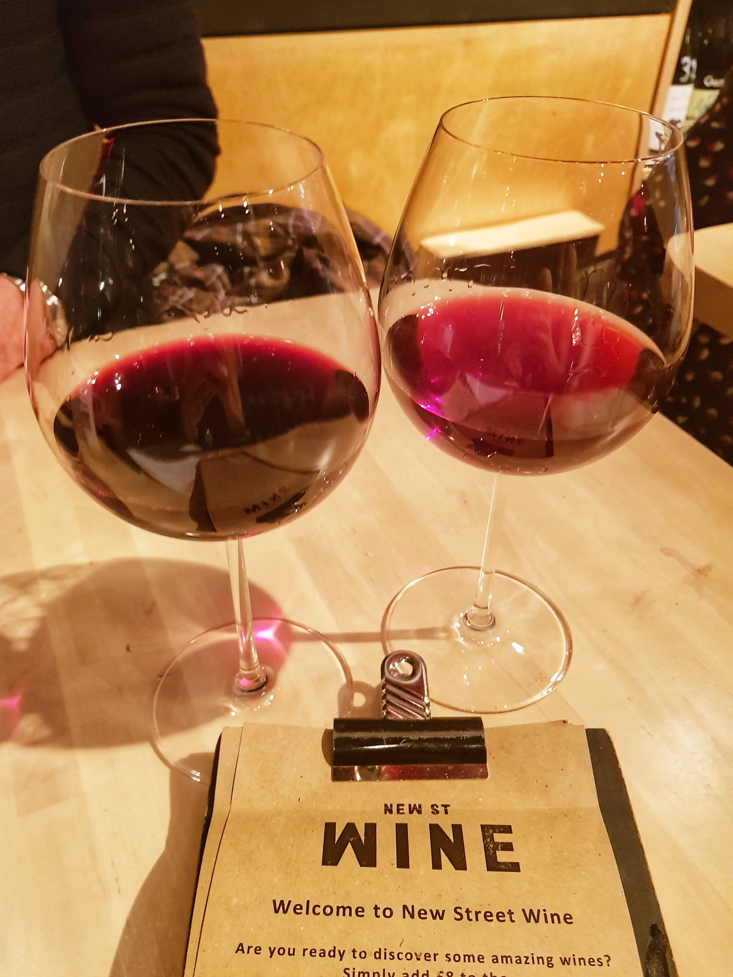 NEW STREET WINE SHOP LONDON REVIEW