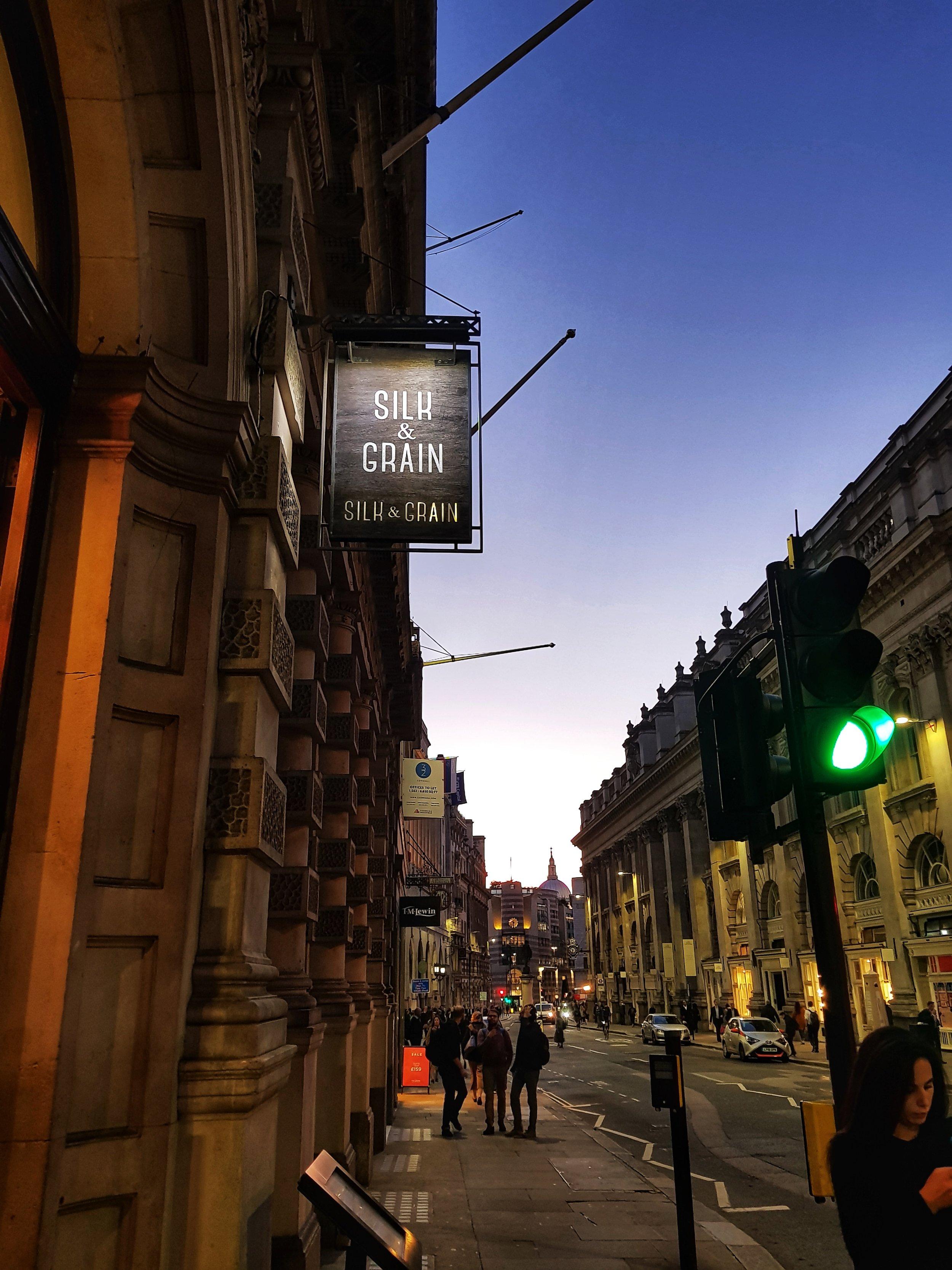 SILK AND GRAIN LONDON RESTAURANT REVIEW