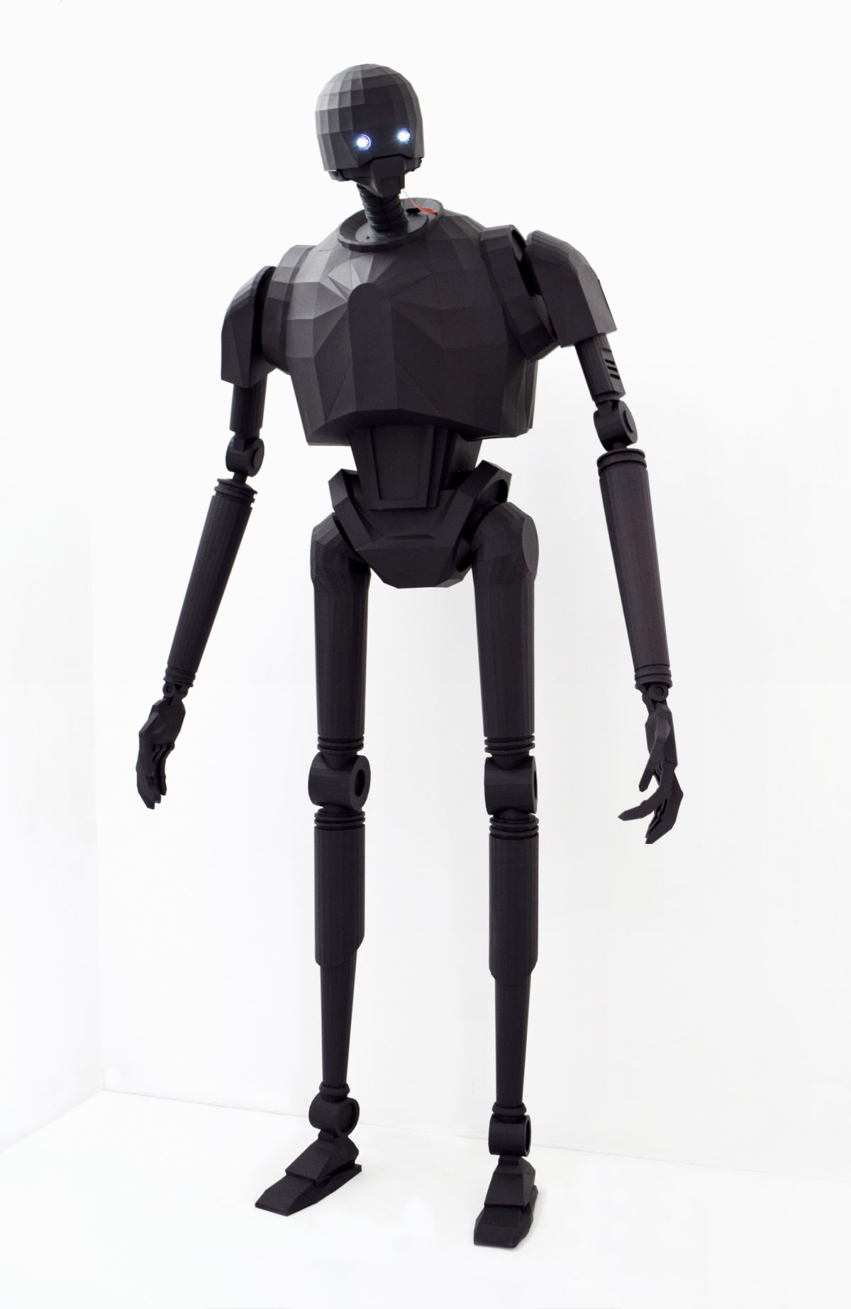 Paper K-2SO  for Silicon Valley Comic Con