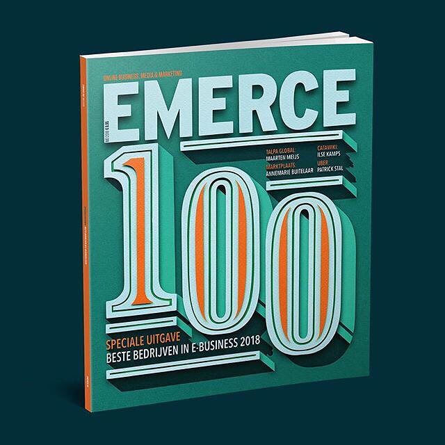 Emerce 100  Cover Illustration