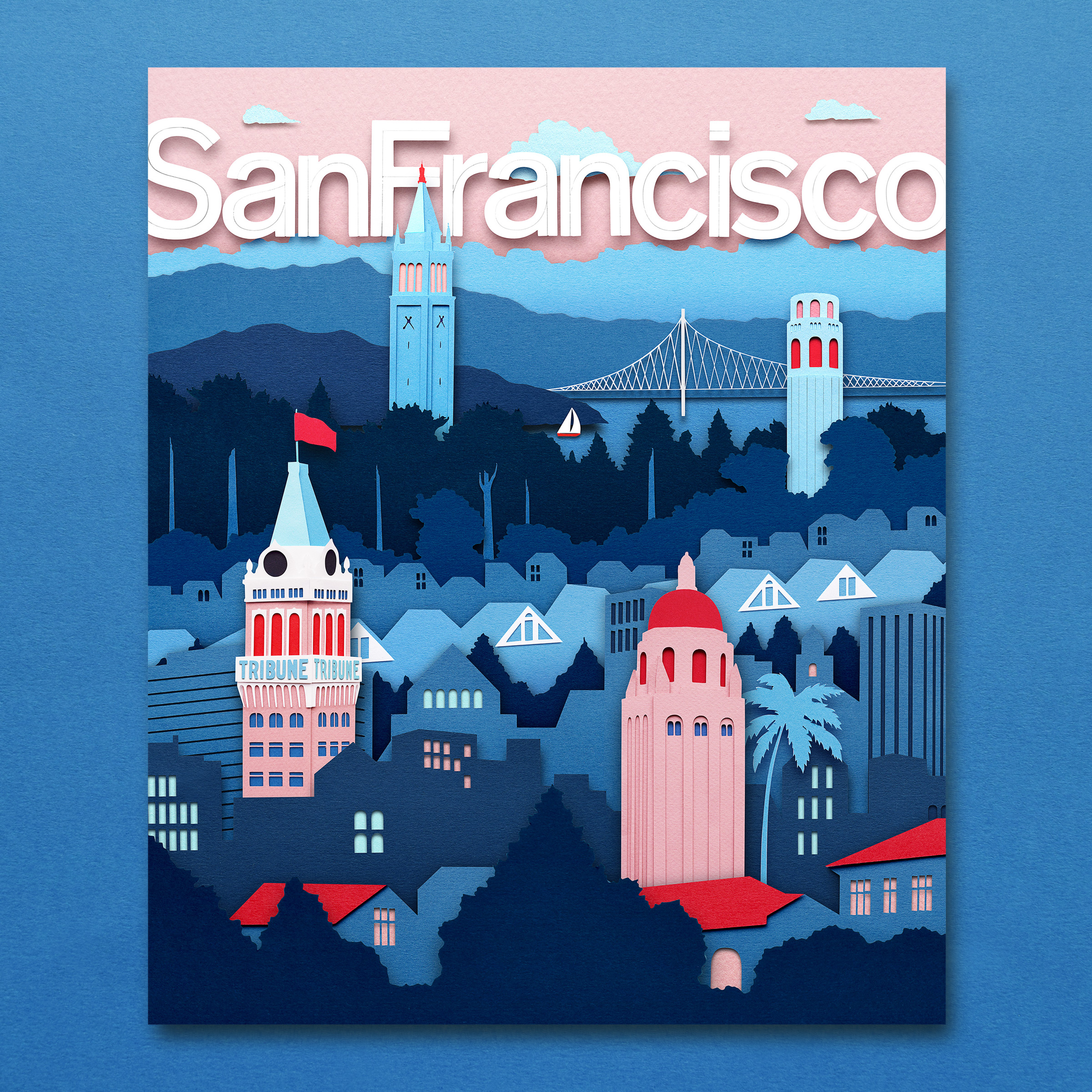 San Francisco Magazine  Cover Illustration