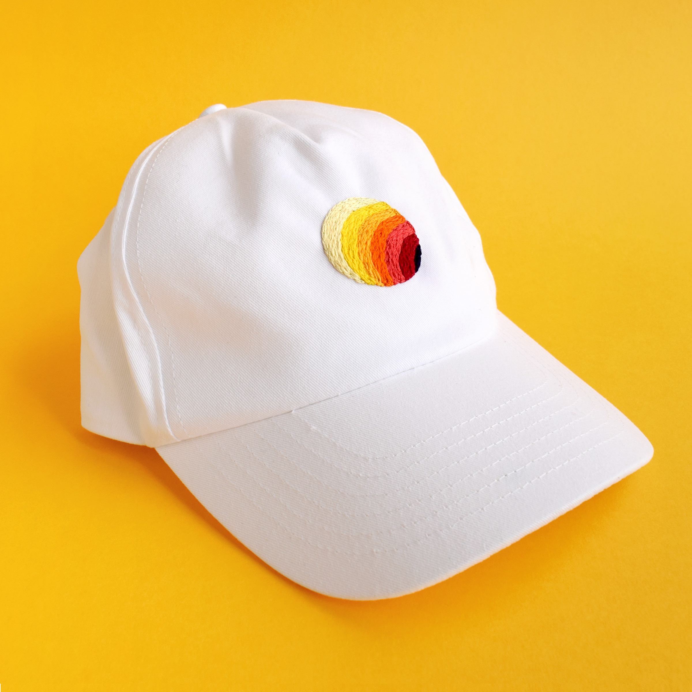 SOL Hat  Hand embroidered hats for Owen Gildersleeve's Online Shop