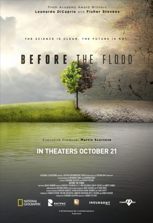 Film poster of  Before the Flood