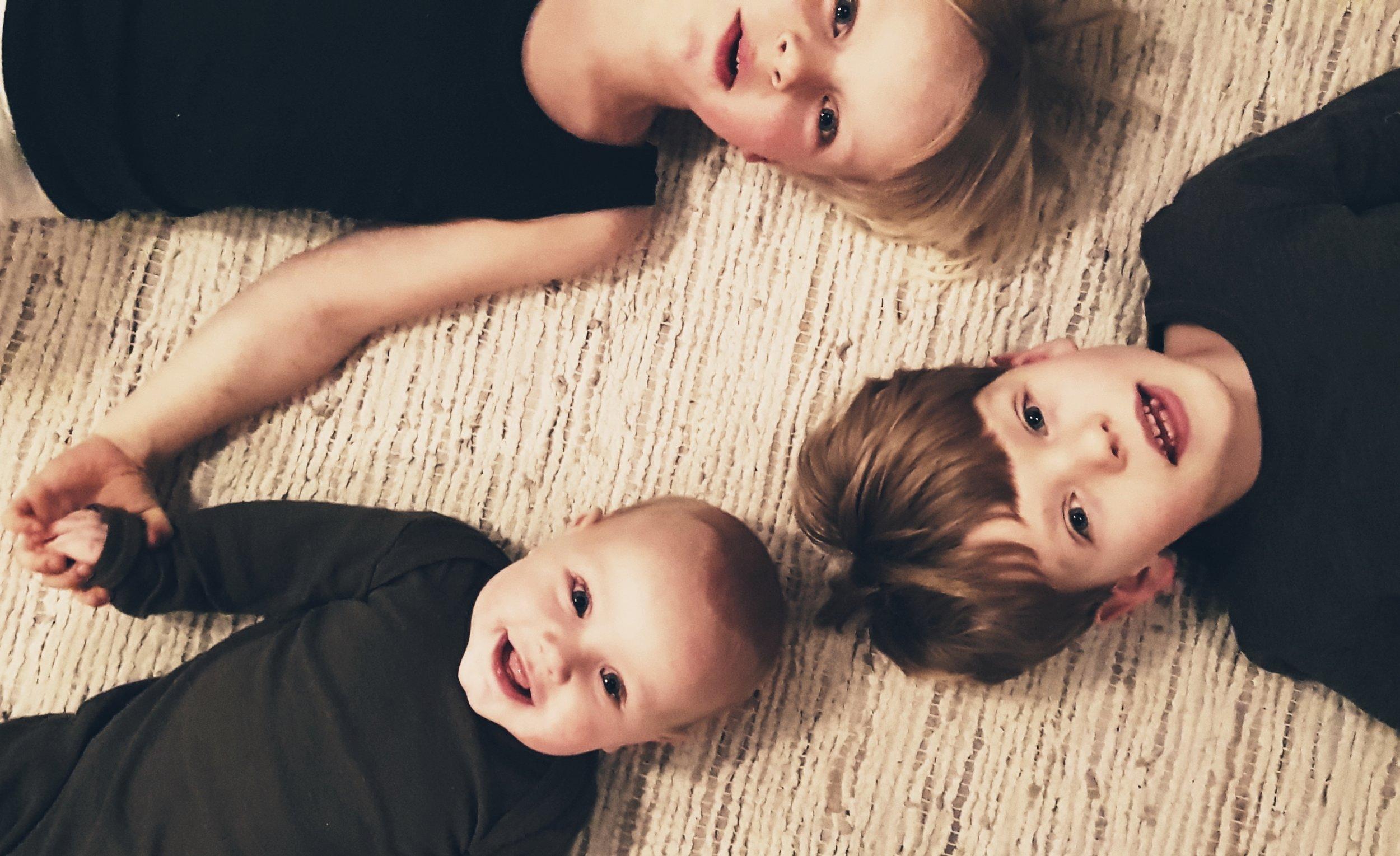 Louises tre drenge.