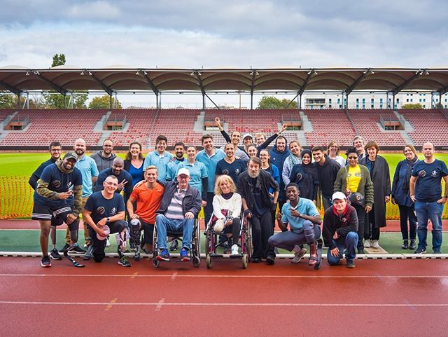 Fitness day in Antony last weekend - So happy to be part of this amazing project and to support and see new amputees walk and run with their prostheses! @ottobockde @ottobock_passionforparalympics #qualityforlife #ambassador #grateful #motivation