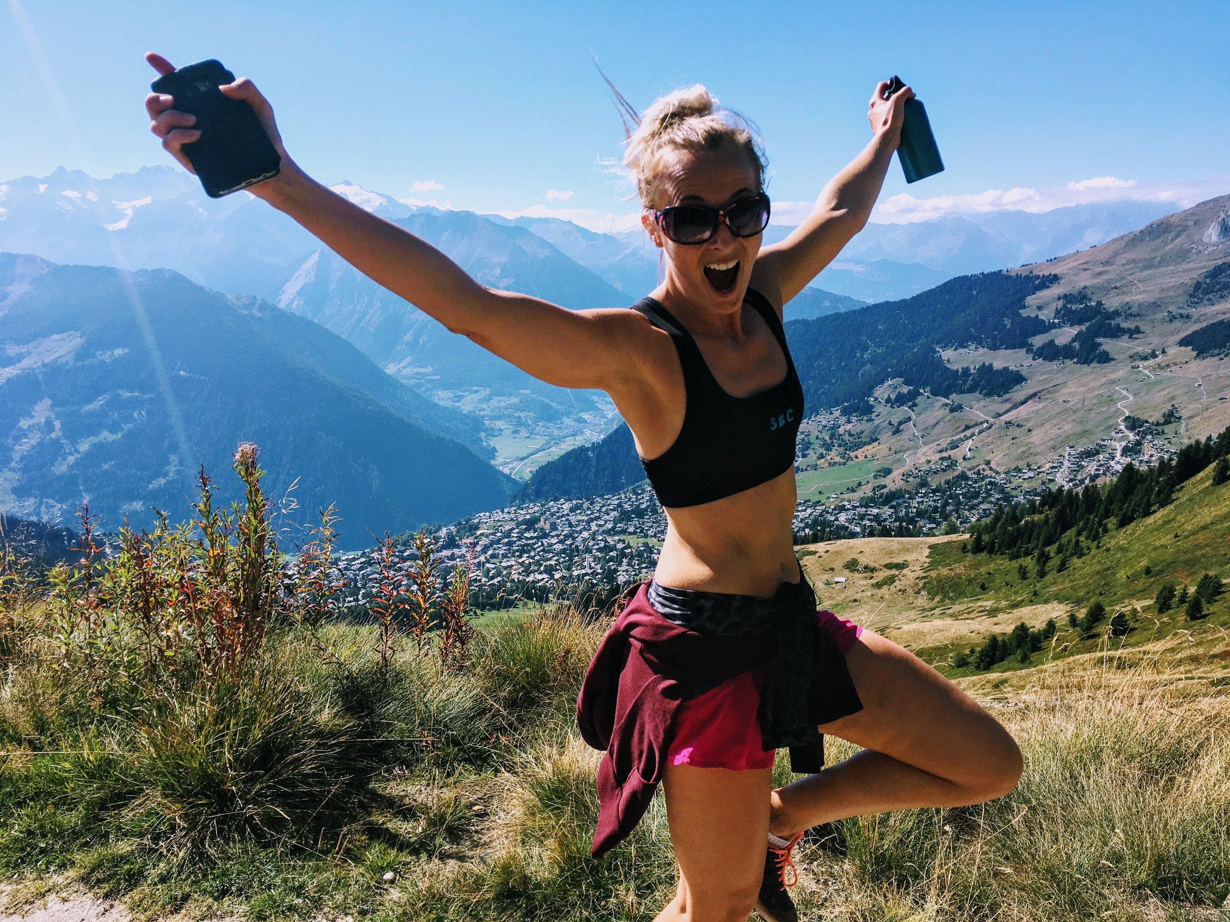 Altitude training, Verbier