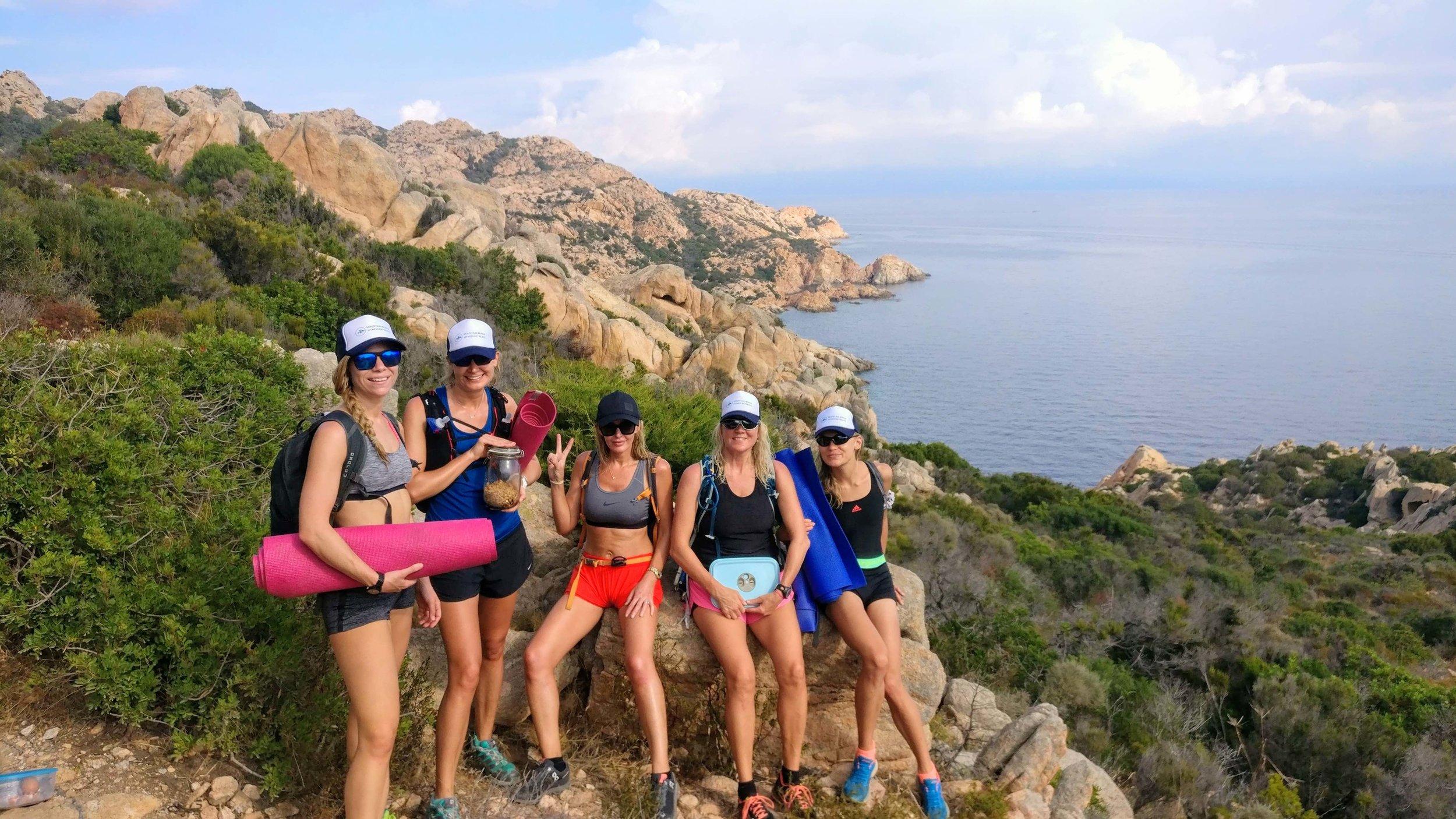 Hikes and yoga, Sardinia