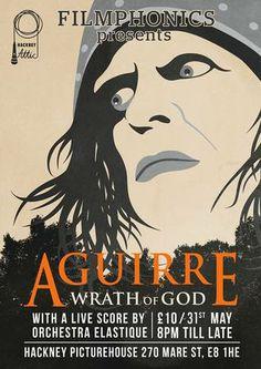 """Werner Herzog's Aguirre """"Wrath of God"""" (der Zorn Gottes), Hackney Picture House, London"""