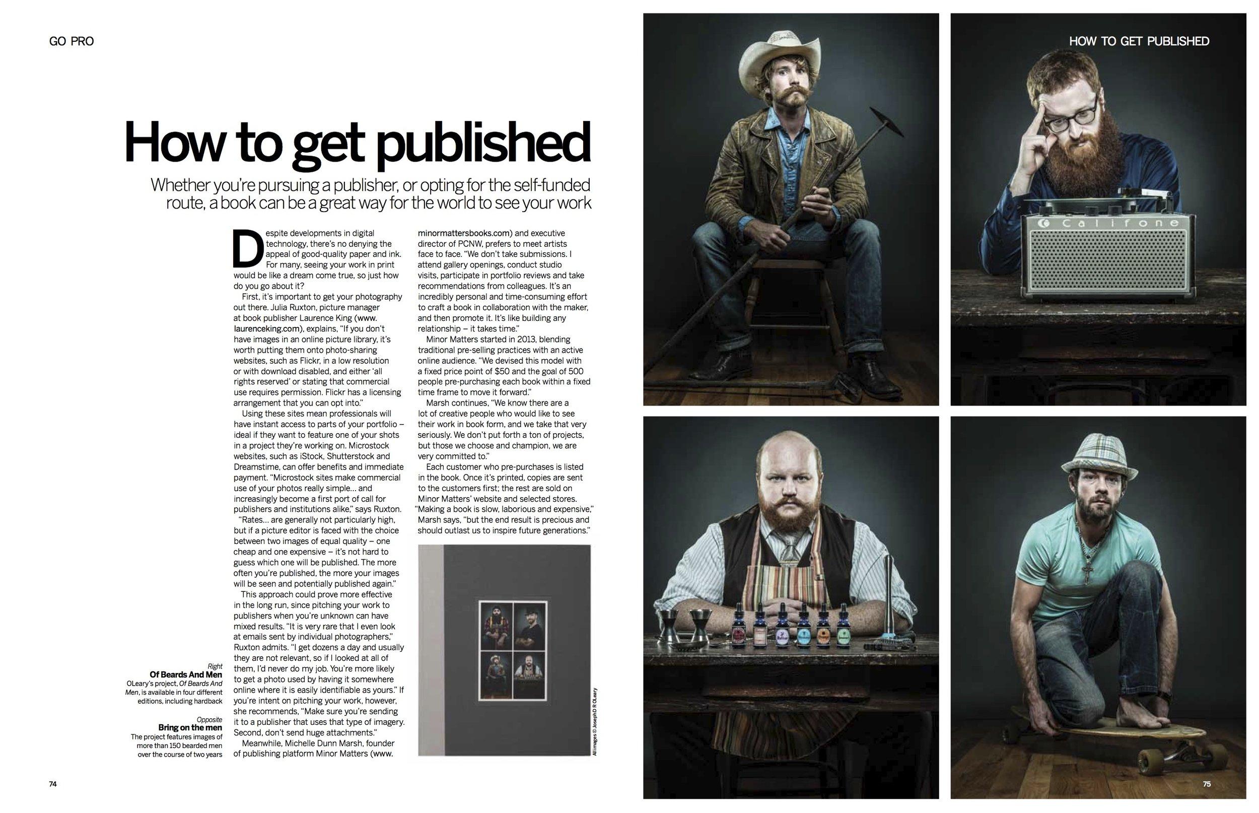 In-depth feature written for Digital Photographer magazine