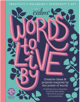 Immediate Media commissioned me to work as Editor on Words To Live By magazine. My brief was to make a one-off publication that was really creative and really different. Within the 160pp (with a 32pp insert) you'll find interviews with Lisa Congdon, Emily McDowell, Allison Sadler, Elise Cripe, plus more. Features range from ethical fashion, generating new ideas to celebrating your uniqueness and telling your story. There's also poetry by Maya Angelou, Kate Tempest (!) and Charly Cox, plus a variety of innovative papercraft projects.