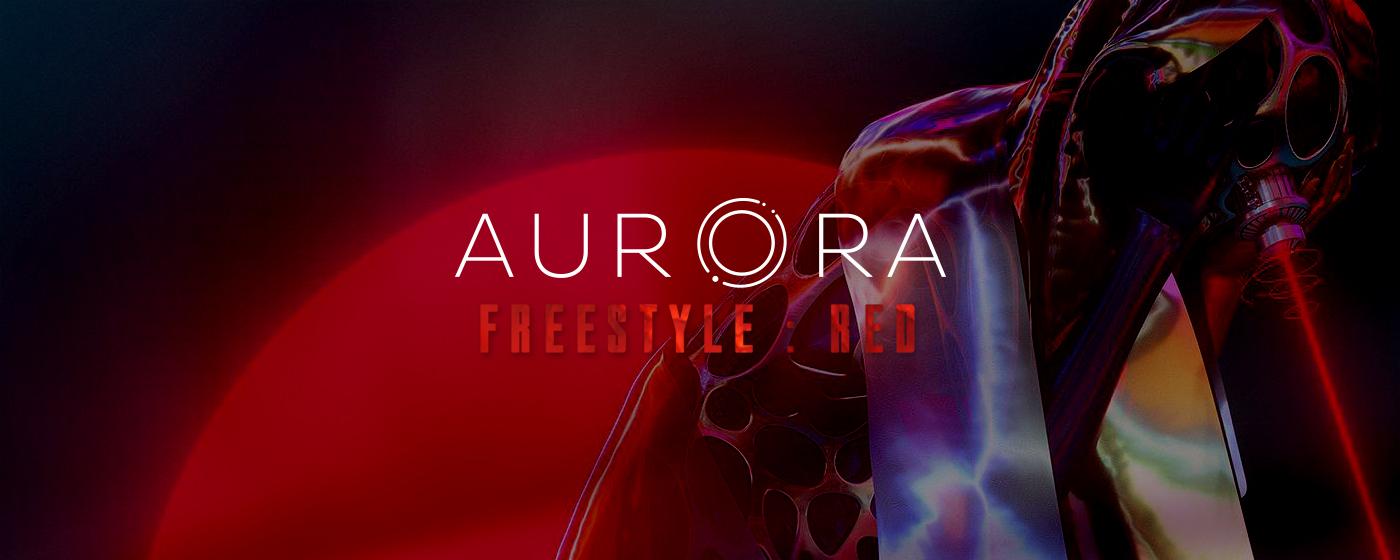 Aurora freestyle red exhibtion