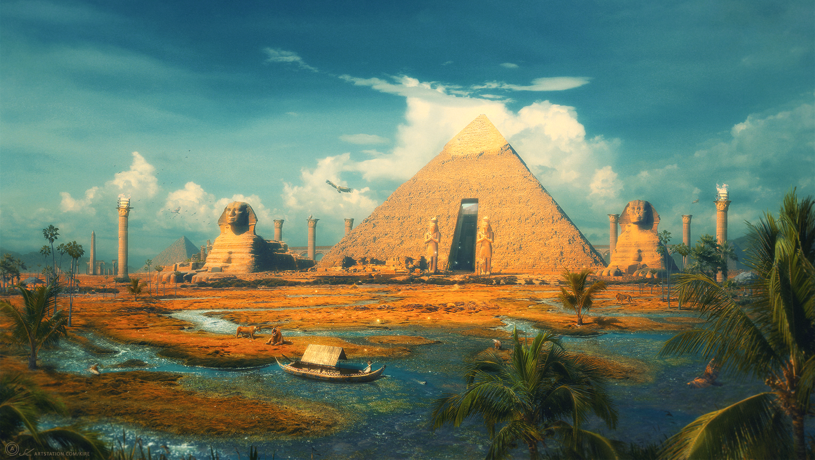 Oasis of the Gods