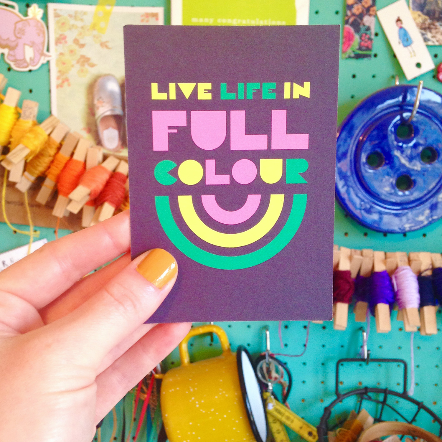 live life in full colour judy andrews