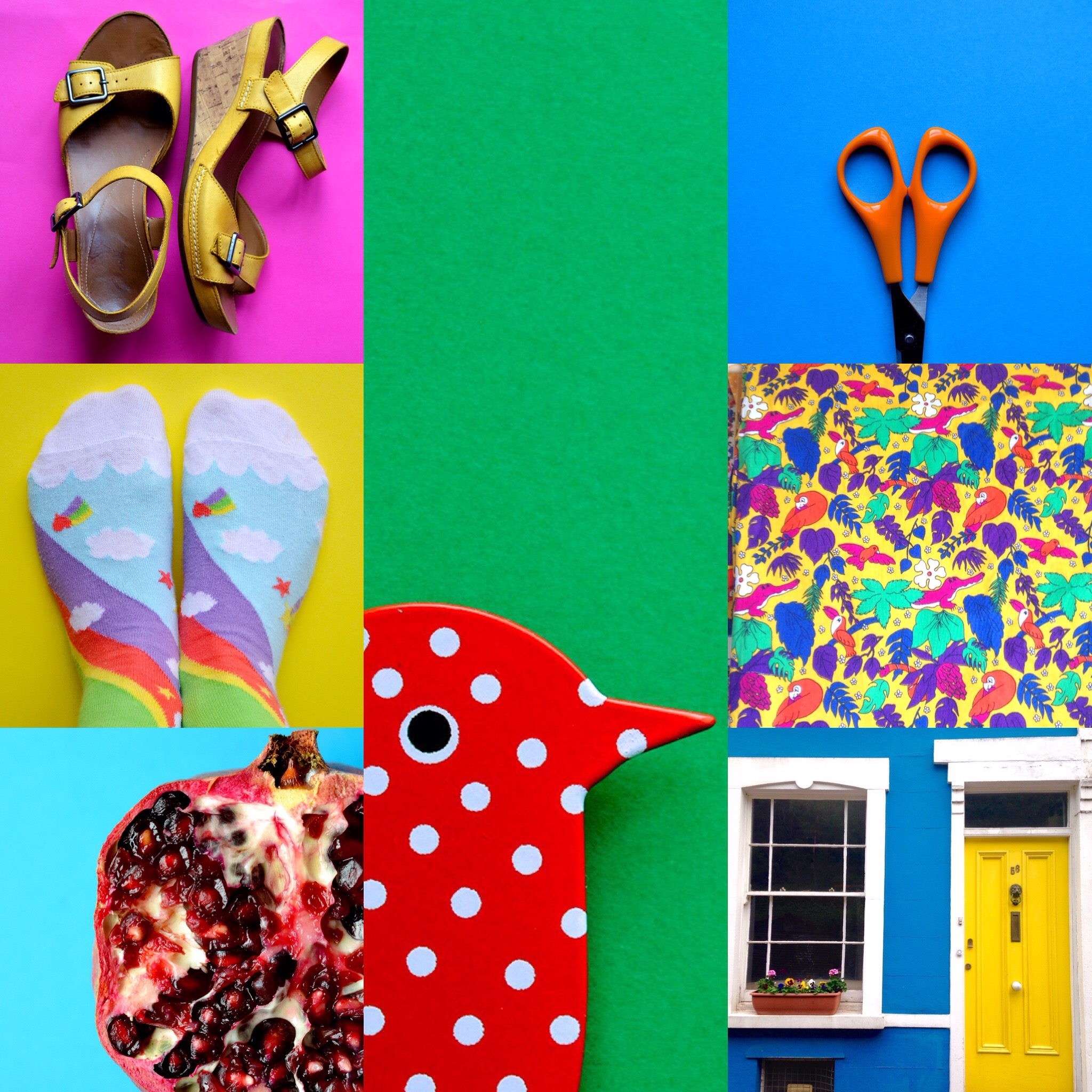 colour themed photo styling by joanna payne