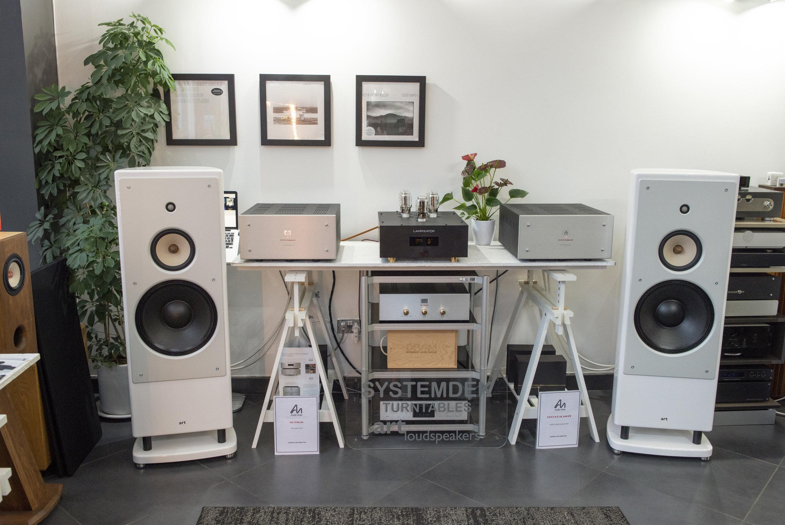 ART at Audiophilia Retailer, Scotland
