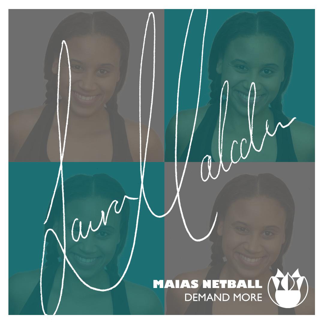 Laura Malcolm Maias Netball