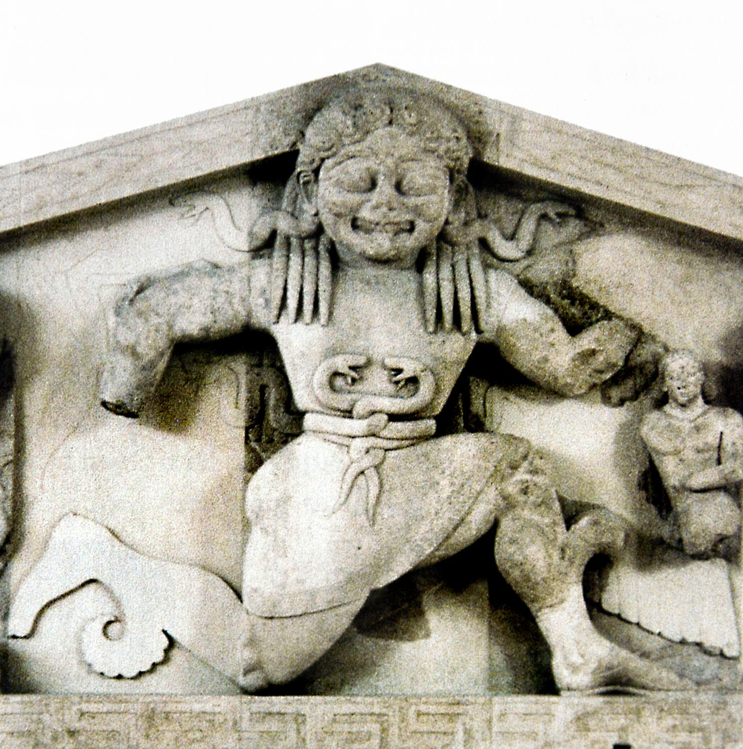 Medusa, Temple of Artemis