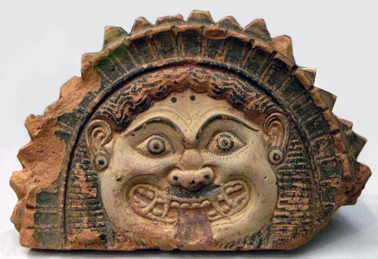 GORGON'S HEAD, Greece, 4th c. B.C.