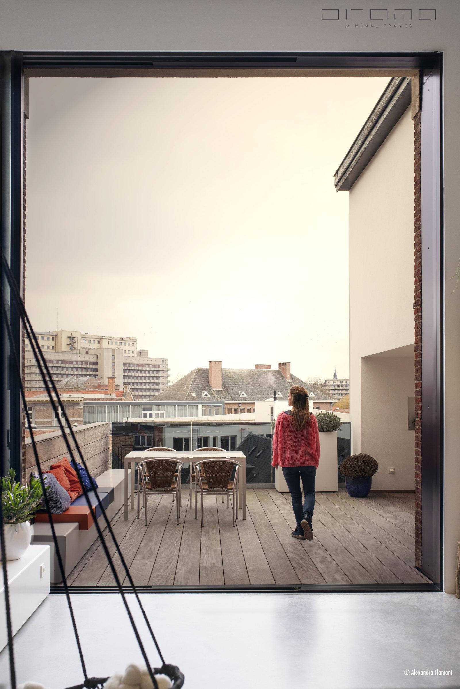 Renovatie luxe loft centrum Leuven