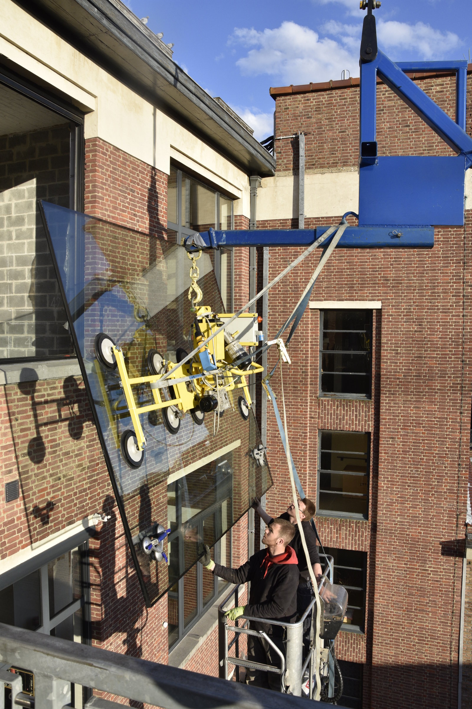 Plaatsing luxe loft centrum Leuven