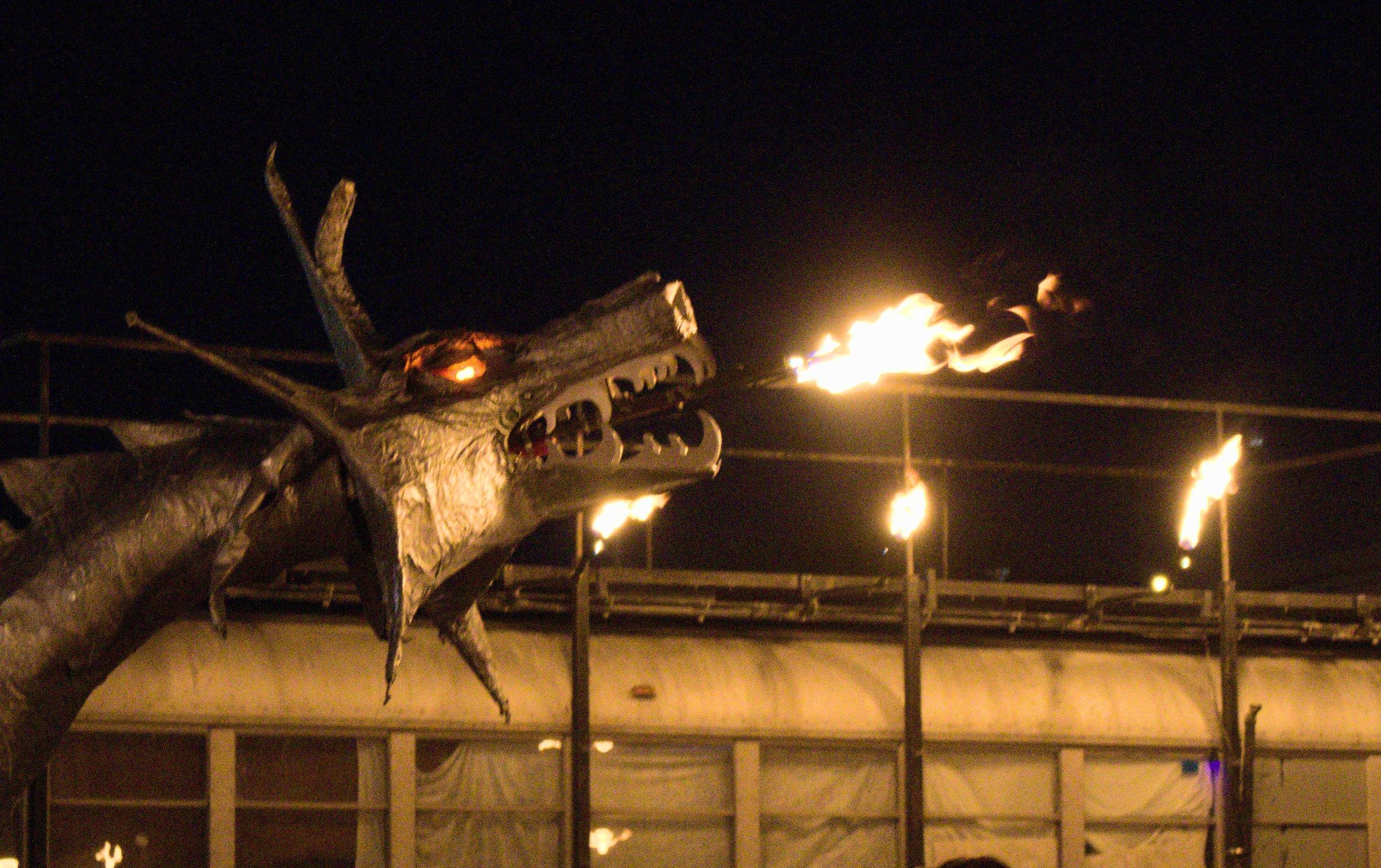 from Captain Nemo's Flaming Carnival