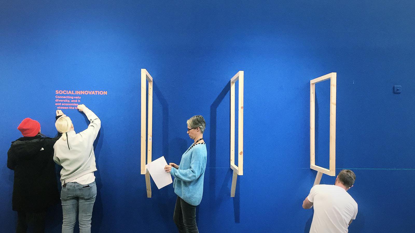 Graduation Show Concept and Exhibition Design