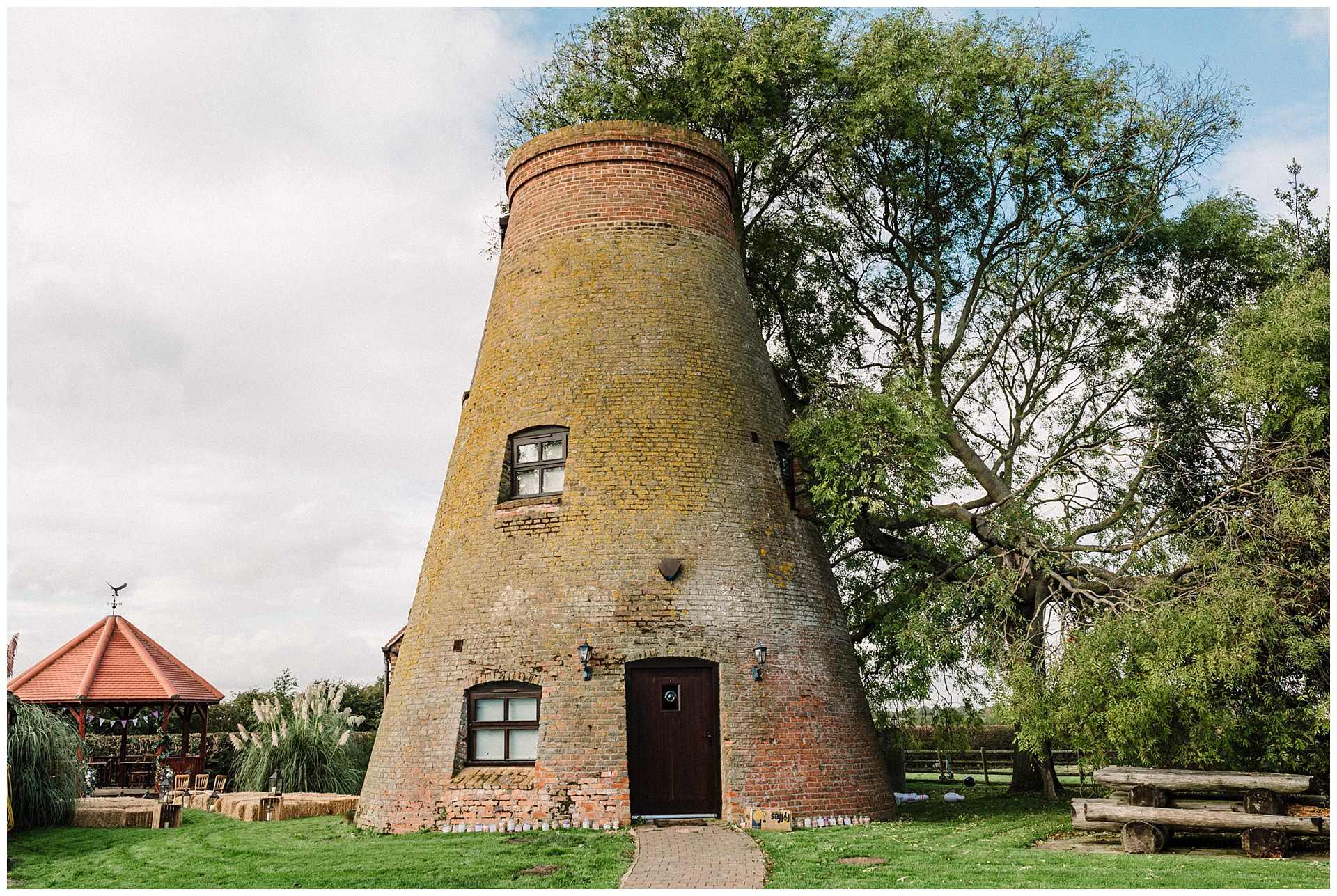The old windmill at Fishlake Mill near Doncaster