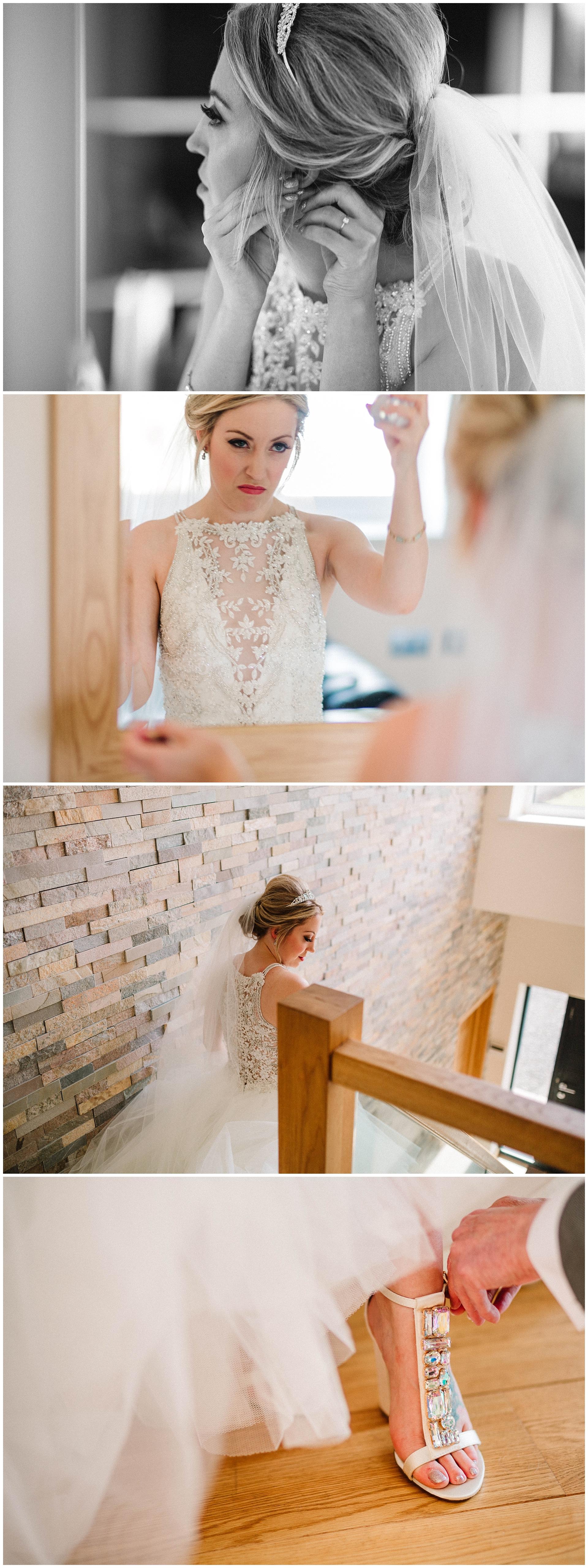 bride getting ready for her garden wedding in leeds.jpg